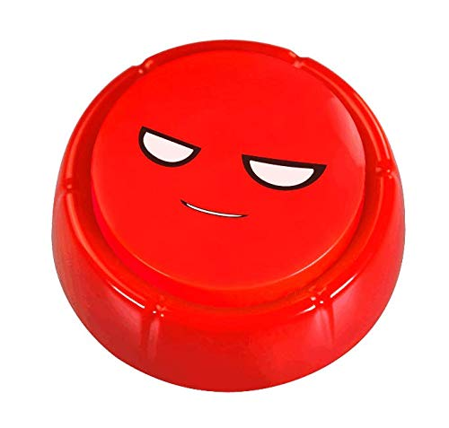 - RIBOSY Laugh Button | The Best& Worst Sound Effects | Six Excellent and Frightful Laughs | Unbound-Untamed-Unusual Noise Maker (Battery Included)