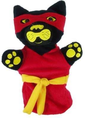 Cog (el Ninja Cat) mano muñeca marioneta - PSHE/sello ...