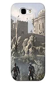 Christmas Day's Gift- New Arrival Cover Case With Nice Design For Galaxy Note 2- Masyaf - Assassins Creed