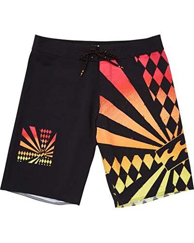 Billabong Men's Rising Sun Boardshorts Black 34