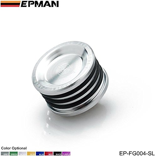 - EPMAN Racing Engine Billet Cam Plug Seal For B16 B18 B20 H22 H23 F20 Engine (Silver)