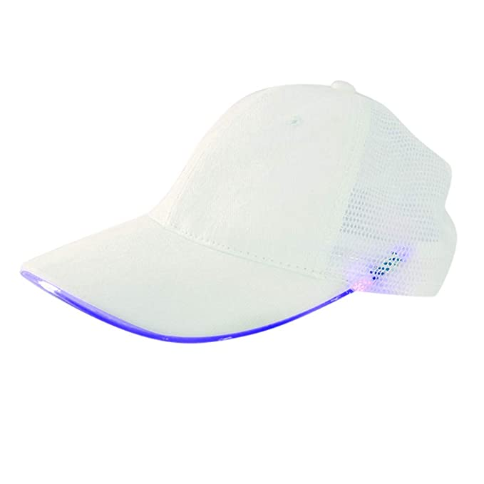Amazon.com: TIANMI LED Light Hat Couple Baseball Cap Fashion ...
