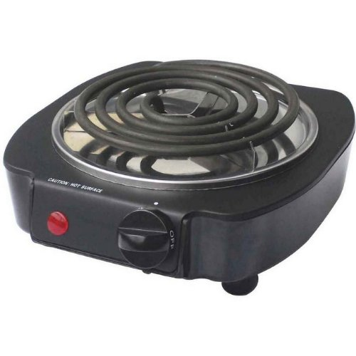 Dominion D93525 Single Coil Burner, 1000-Watt, Black Dominions
