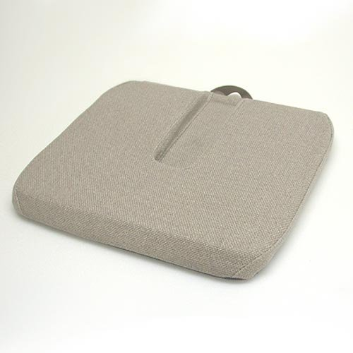 - McCarty's Sacro Ease - RSC-RX-BRN - Coccyx Relief Cutout Car Seat Cushion - Brown - Width - 15 in.