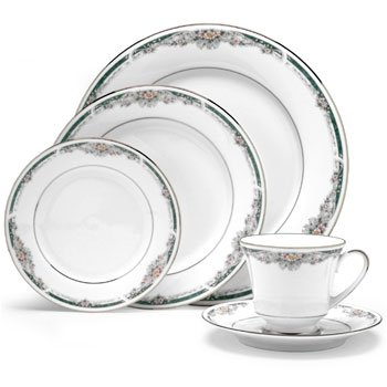 Noritake Enhancement 5 Piece Place Setting (Enhancements Dinnerware Set)