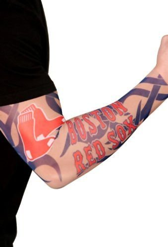 Boston Red Sox Official Adult Fake Arm Tattoo (Sox Tattoo)