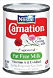 Carnation Evaporated Milk Can - Fat Free - 12 oz