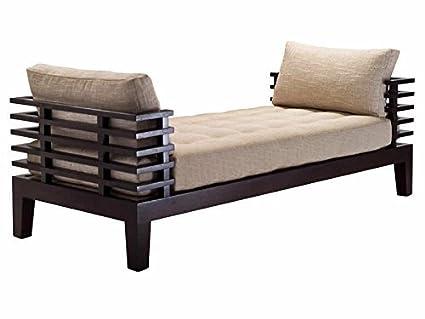 Latest Furniture Wood Beautiful Design Classic Sofa (Brown and Beige ...