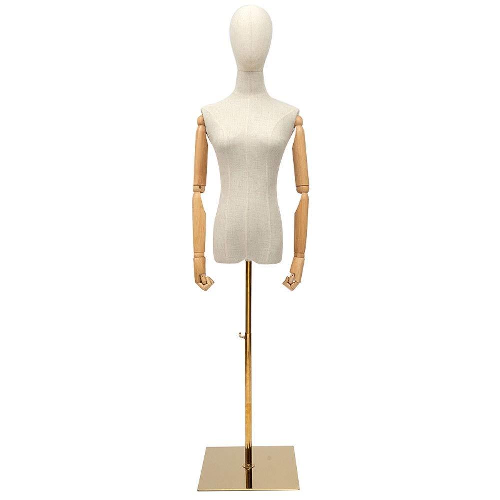 LRHYG Maniqu/íes Femenino De Sastre Maniqu/í Busto Desmontable Regulable En Altura Adecuado For Ropa Vestido Joyas Soporte De Exhibici/ón Color : A, Size : Small