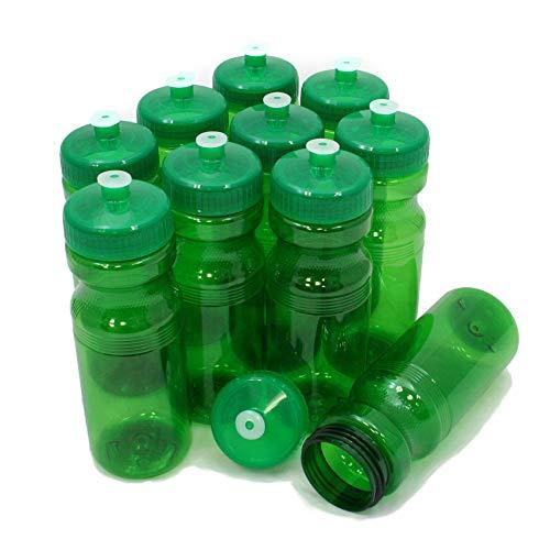 - Rolling Sands BPA Free 24oz Drink Bottles Green (10 Pk, Made in USA)