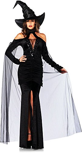 Adult Sultry Witch Costumes (Sultry Sorceress Adult Costume - Medium)
