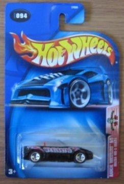 Hot Wheels 2003 Radical Wrestlers Mazda MX-5 Miata 5/5 BLACK 094 ()