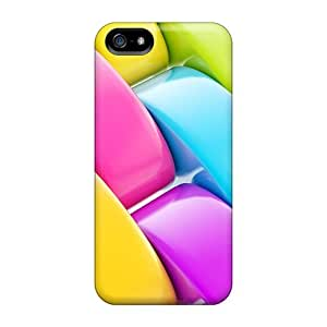 Colourfull Ab Fashion Tpu 5/5s Case Cover For Iphone by runtopwell