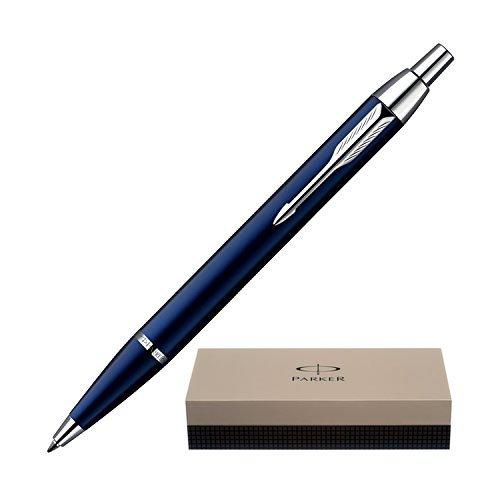 Dayspring Pens - Personalized PARKER IM Blue Ballpoint Gift Pen. Custom Engraved Fast! Ballpoint Gift Pen