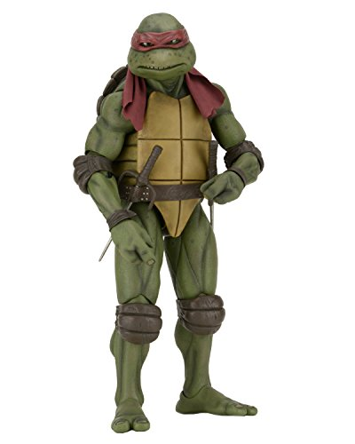 NECA Children's Teenage Mutant Ninja Turtles (1990 Movie) 1/4 Scale Raphael Figure (Ninja Turtles Action Figures Neca)