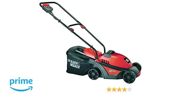 Black & Decker GR3000 - Cortacésped (Cortacésped manual, 35 L ...