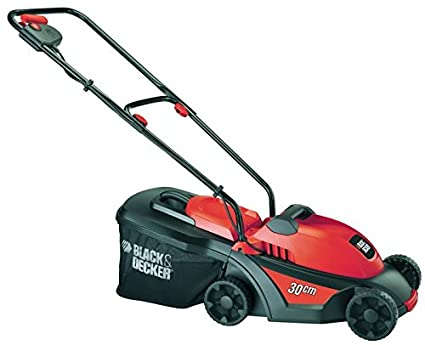 Black & Decker GR3000 - Cortacésped (Cortacésped manual, 35 L, Corriente alterna,