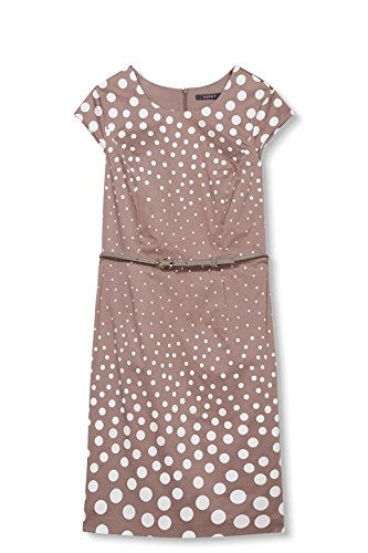Collection Femme taupe Robe Marron Esprit d410d