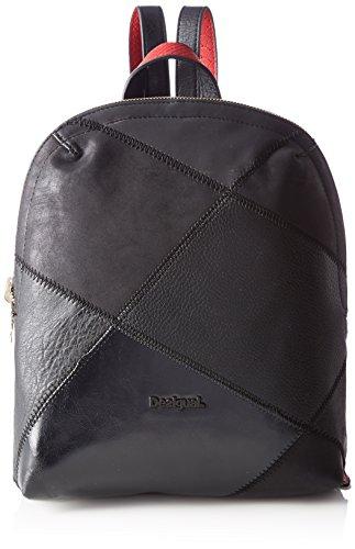 Desigual - Bols_madeira Cougar. 2000. U, Mujer, Negro, 10x35x25.3 cm (b x h t) Negro