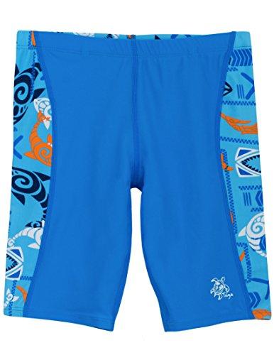 Tuga Boys Jammer Swim Short (UPF 50+), Night, 4/5 yrs (19.5'') by Tuga Sunwear