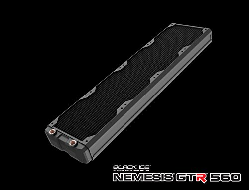 Hardware Labs Black Ice Nemesis GTR Black Carbon Radiator - 560mm