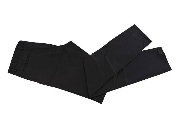 Gucci Pantalón Hombre 46 Negro Algodón Normal Corte Recto