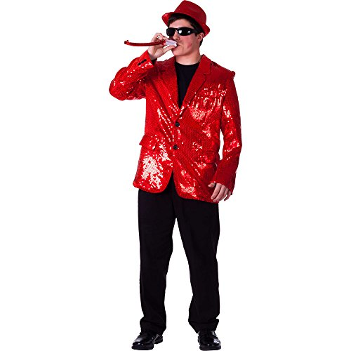 Adult Red Sequin Jacket - Size