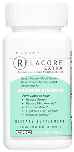 Relacore Maximum Strength Stress Reducer/Mood Elevator Caplets, 72 count (Pack of 1) by Relacore (Image #5)