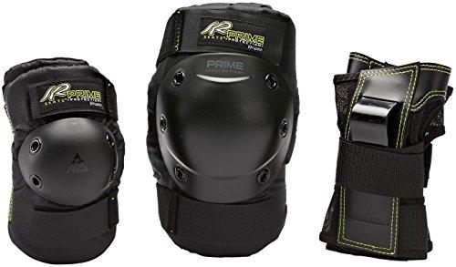 Protecciones W Prime Negro Color Conjunto Set Schützerset Pad K2 De OT05zq4Eq