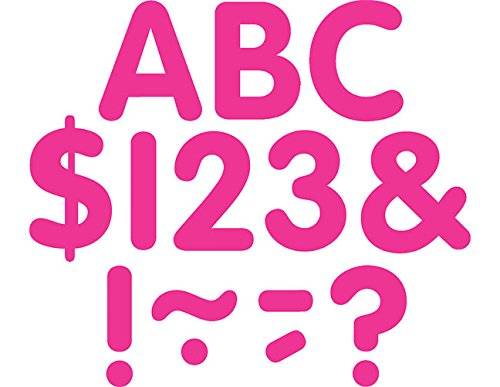 Teacher Created Resources Hot Pink Classic 2-Inch Letters Uppercase Pack (5561)