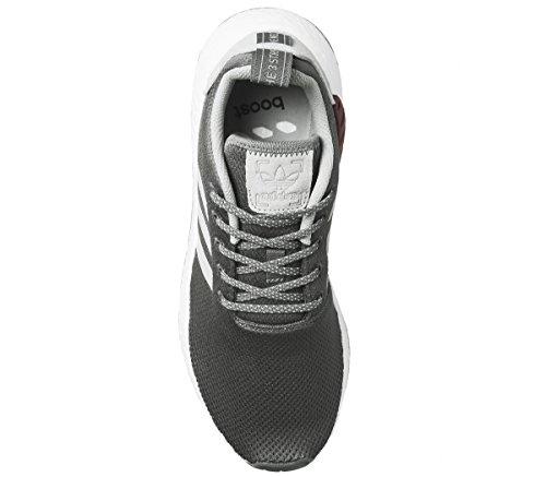 Gris Baskets r2 Homme Nmd Marron Adidas Pour EqXwa
