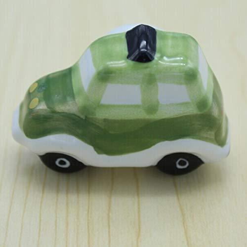Car model ceramic children knobs,cartoon porcelain drawer cabinet dresser children room furniture handles pulls knobs kids knobs