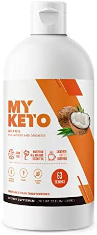 MyKeto Natural MCT derived Coconut