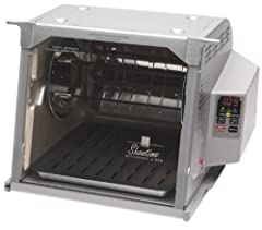 Cook like a Gourmet with the Ronco ST5000PLGEN Showtime Rotisserie Platinum Edition. Make perfectly roasted chickens, turkey, pork or rib roasts, and burgers that are delicious and healthy too.Chefs know that the secret to great roast chicken...