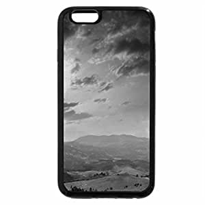 iPhone 6S Case, iPhone 6 Case (Black & White) - A beautiful view
