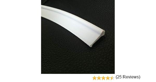 HNNHOME® - Junta para mamparas de ducha para puertas plegables, blanco: Amazon.es: Bricolaje y herramientas