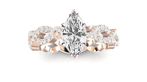 0.76 Ct Marquise Diamond - 5