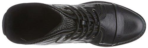 Marco Tozzi 25103 - Botas de lona para mujer negro - Schwarz (Black Ant.Comb 096)