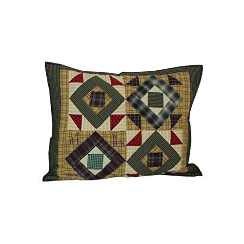 Patch Magic 27-Inch by 21-Inch Square Diamond Pillow (Patch Magic Square Diamond)