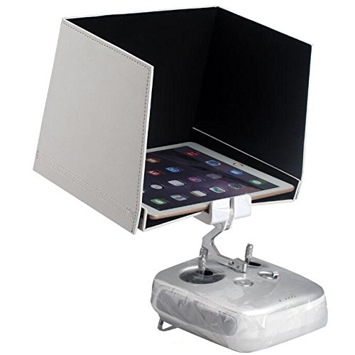 Ake Universal Remote Control 9.7 inch Visor Plate Tablet Sun Shade Hood Cover Folding pour DJI Phantom Inspire 1