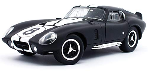 (Shelby 1965 Cobra Daytona Coupe #8 Matt Black 1/18 by Road Signature 92408)