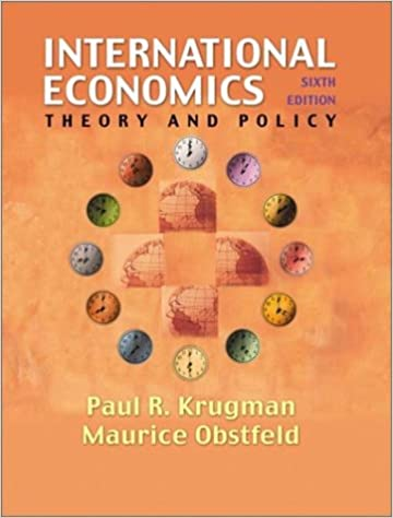 International economics theory and policy 6th edition paul r international economics theory and policy 6th edition paul r krugman maurice obstfeld 9780201770377 amazon books fandeluxe Choice Image