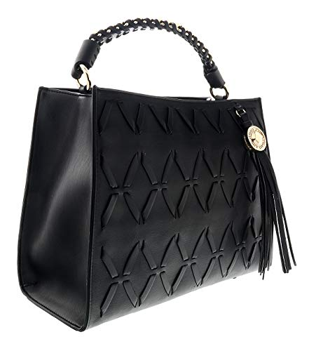 - Versace Black Hobo Bag-EE1VTBBW4 E899 for Womens