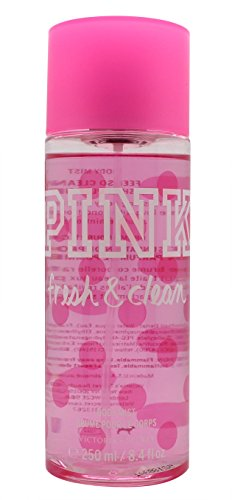 Victoria's Secret Pink Fresh & Clean for Women Body Mist, 8.4 (Chic For Women Body Lotion)