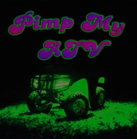 Green Blob Outdoors PIMP MY ATV (Green) LED All Terrain Recreational Vehicle Lighting Kit lights DIY Golf Cart Motorcycle Strips by (Green)