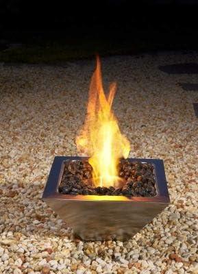 Bocker Chimenea de bioetanol Jardín Fuego/terassen Fuego: Amazon.es: Jardín