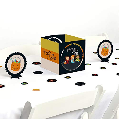 (Big Dot of Happiness Trick or Treat - Halloween Party Centerpiece & Table Decoration)