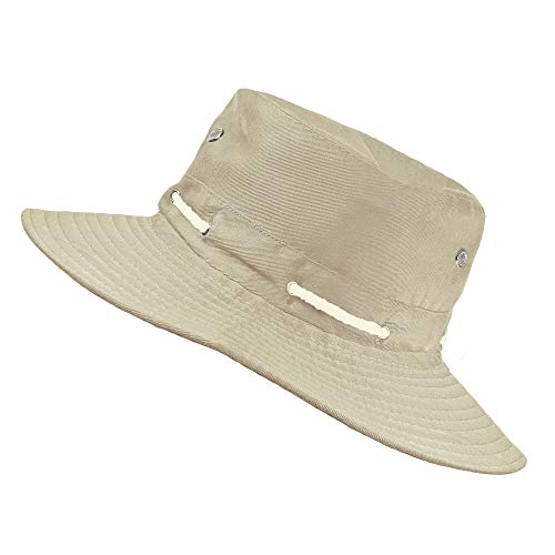 TOSKATOK® Unisex Ultra Stylish Aussie Outback Safari Bush Hat-Sand 0062e4606a99
