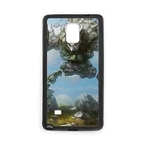 Samsung Galaxy Note 4 Phone Case Cover Black League of Legends Marble Malphite EUA15975472 Phone Case Durable Back