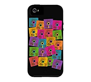Old School Data Storage iPhone 5/5s Black Tough Phone Case - Design By Humans